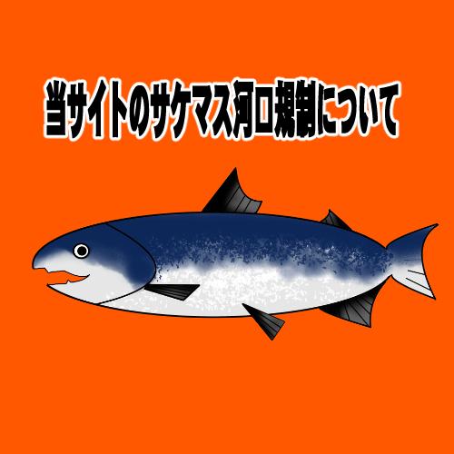 本サイトのアキアジ(鮭)マスの河口規制情報について。2019年9月