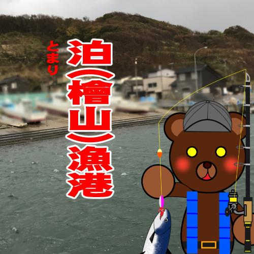 北海道(道南) 釣り場案内「泊(檜山)漁港」ver.2