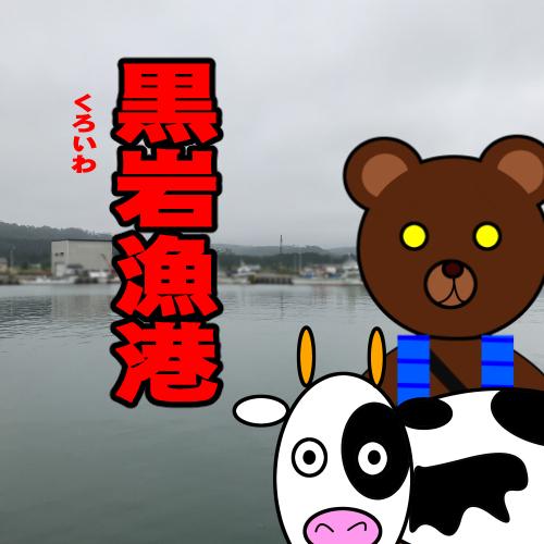 北海道(道南) 釣り場案内「黒岩漁港」ver.2