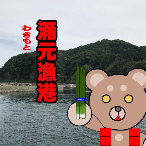 北海道(道南) 釣り場案内「涌元漁港」ver.2