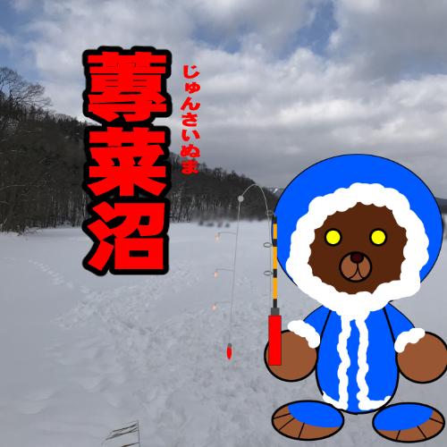 北海道(道南) 釣り場案内「蓴菜(ジュンサイ)沼」冬.ver
