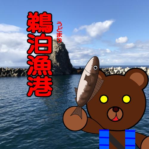 北海道(道南) 釣り場案内「鵜泊漁港」ver.2